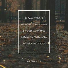 Mateus 7:7