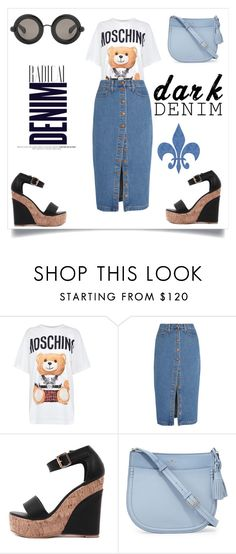 """""""Untitled #253"""" by bainsey1 on Polyvore featuring Moschino, Madewell, Kate Spade, Christopher Kane and Alima"""