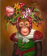 Monkey in Canvas - Amazon.com