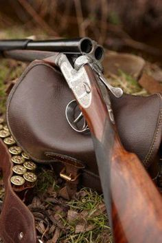Double barrel, brings back sweet memories of Red Dead Redemption, using one of these babies on anyone who crossed my path :') Shooting Guns, Game Shooting, Shooting Sports, Sporting Clays, Hunting Rifles, Hunting Art, Double Barrel, Cool Guns, Firearms