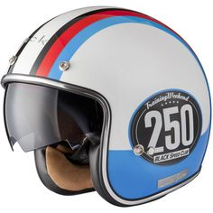 Black Smith Limited Edition Motorcycle Helmet