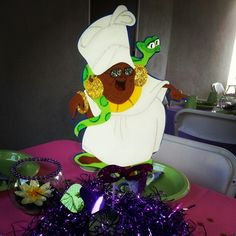 Princess and the frog party theme
