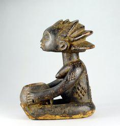 Statues, Art Tribal, Art Premier, Art Africain, Congo, Arts, Lion Sculpture, Effigy