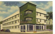 Miami Beach, Florida.  Nice postcard from United States. Original, not reprint. Contact us for price.