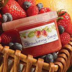30 Minutes to Homemade Strawberry-Orange Jam