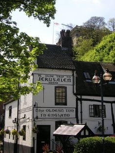 Ye Olde Trip to Jerusalem is the oldest inn in England. Established in 1189 AD.