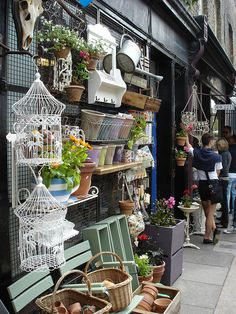 One of my favourite shops on Columbia Road Flower Market