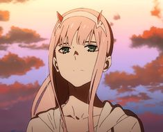 Animated gif about cute in Darling in the frankxx by ~ Naho ~ Girls Anime, All Anime, Anime Art, Chica Anime Manga, Kawaii Anime, Anime Films, Anime Characters, Querida No Franxx, Arte 8 Bits