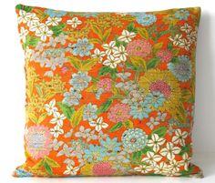 Throw Pillow Cushion Cover Stunning Retro by BeccaCadburyDesign, £30.00