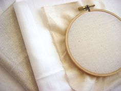 Choosing Fabric for Hand Embroidery - Craftsy.com. This site tries to sell you stuff! But good info on fabrics. KEEP THIS PIN!   jwt