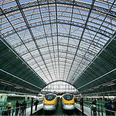 Eurostar Train Service Review - St. Pancras in London | Splash Magazines | Los Angeles