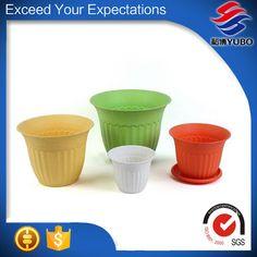 Plastic Flower Pots, Concrete Planters, Beautiful, Plastic Planters, Plastic Plant Pots, Cement Planters, Plastic Pots, Concrete Pots