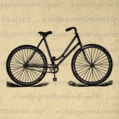 Antique bicycle.