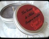 Bougie en cire végétale parfum cerise et chocolat : Luminaires par les-lueurs-de-meloe