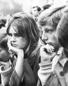 Freed, Leonard: RAI Congresgebouw Youth Against World Use Of Atomic Power, 1969.