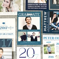 43 best graduation invites announcements thank yous images on basic invite graduation invitations and announcements for boys filmwisefo