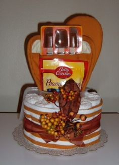 Kitchen towel cake. Love it with the cookie mix.