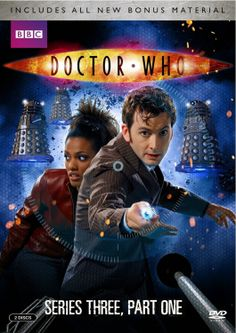 USA PRE ORDER: Doctor Who Series 3, Parts 1 & 2 With Added Extras On DVD
