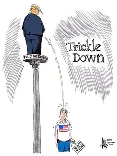 We've Felt this Trickle once before, Under Reagan & Bush 1 !