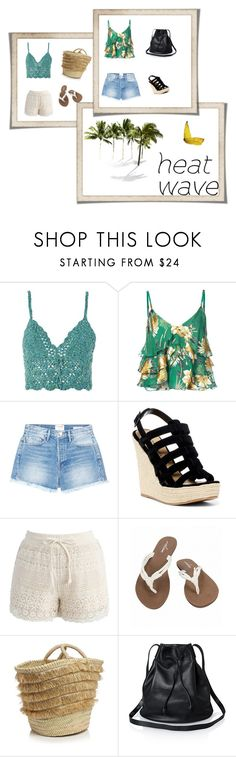 """""""heate wave"""" by eldina-jamakovic ❤ liked on Polyvore featuring Topshop, Alice + Olivia, Frame, Chinese Laundry, Chicwish, Volcom and Caterina Bertini"""