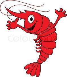 image result for pictures of dancing shrimp crafts pinterest rh pinterest com Cajun Shrimp Boil Clip Art Lobster Clip Art