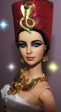 Elizabeth Taylor as Cleopatra Barbie Doll