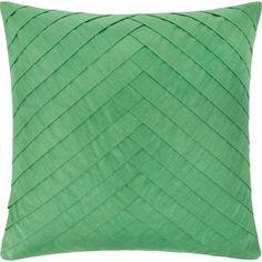 Ein neuer Look für Ihr Sofa - trendiges Zierkissen in frischem Grün