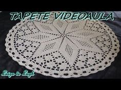 Tapete de barbante nº 17 - PAP # By Luiza de Lugh - YouTube