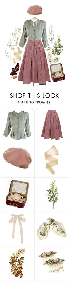 """""""BREEZY"""" by thinvein ❤ liked on Polyvore featuring Tome, Wolford, Moulin Roty, Pier 1 Imports, Hermès, Joanna Laura Constantine and Cameo"""