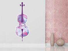 Sticker Mural Violon    #ZoneStickers #Violon