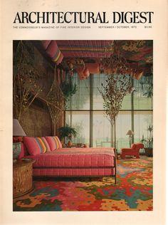 Architectural Digest September-October 1972 - Ephemera Forever