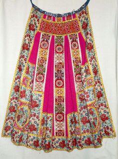 Hungarian Embroidery Mérai viseletröl, Costume from Meran, Hungary Hungarian Embroidery, Folk Embroidery, Embroidery Patterns, Textiles, Folklore, Ethno Style, Costumes Around The World, Braided Line, Textile Fiber Art