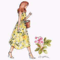 Dolce & Gabbana Spring 2016 -Lemons for Spring!