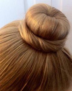 Nice ballet bun!