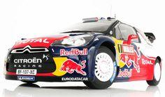 Norev 2011 Citroen DS3 #1 WRC World Champion Red Bull