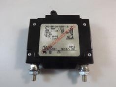 CA1B034650121D - CARLING SWITCH INC - 50 AMP CKT BREAKER BOLT IN BLACK HANDLE NO PIN 65V