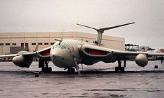 Evil looking beast - The Victor nuclear bomber.