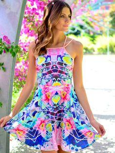Indigo Dress at Mura Boutique 2013 style