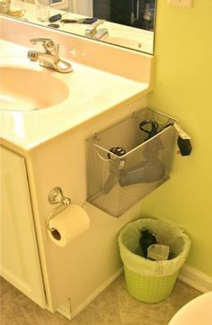 Bathroom storage is a location of the home we constantly require to work with. After that you'll need to see these 30 bathroom storage ideas. Bathroom Organization, Bathroom Storage, Organization Hacks, Organizing Ideas, Bathroom Ideas, Bathroom Caddy, Bathroom Shelves, Organization Station, Vanity Bathroom