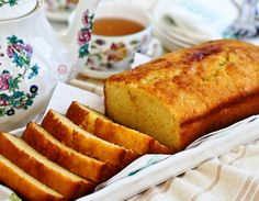 Orange Pound Cake Recipes Fragrant, moist, and tender Orange Pound Cake flavored with freshly squeezed orange juice and orange zest. Perfect for snack time or tea time. Bakery Recipes, Dessert Recipes, Cooking Recipes, Tea Recipes, Rice Recipes, Healthy Recipes, Iranian Desserts, Just Desserts, Delicious Desserts