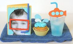 Swimming or Summer party Decorating ideas.. I love this idea so cute!