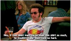 As always Steven Hyde is right...