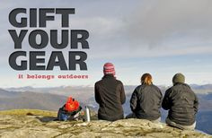 Recycle your unwanted outdoor clothes with Gift Your Gear and give more young people the chance to enjoy outdoor activities