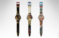 time traveller watch collection by Designkwartier, based on Rijksmuseum Rijksstudio