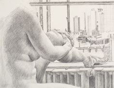 Philip Pearlstein Drawings | Drawing Basics: Philip Pearlstein's Unrelenting Gaze - The Drawing ...