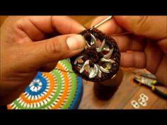 "Como hacer una bolsa con anillas de lata: Bolso ""Erika"" parte 1"