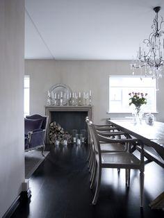 Interior Design by Ruth Karadottir Beautiful Interiors, Colorful Interiors, Dining Room, Dining Table, My Dream Home, Interior Inspiration, Furniture Design, Sweet Home, New Homes