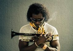 Miles Davis - great shot