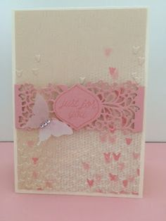 Stampin 'theetje: Blog Hop! Just for you!