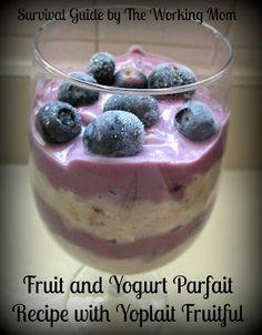 The Perfect Breakfast Recipe: Fruit, Yogurt and Oatmeal Parfait